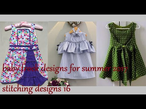 7164b2ba5387 baby frock designs for summer 2017
