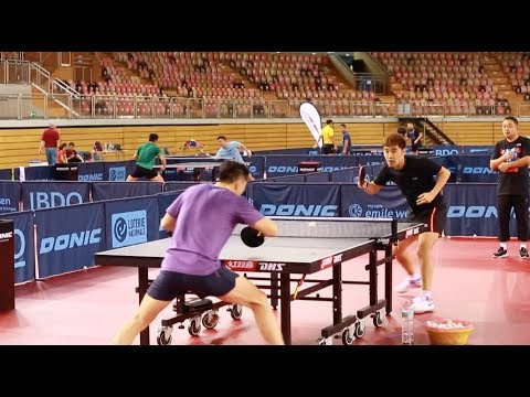 Chinese Table Tennis Team Trains ahead of World Table Tennis Championship