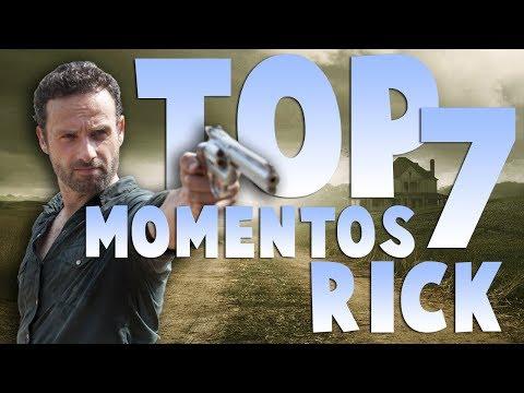 Top 7 Momentos de Rick Grimes | The Walking Dead | Yalts