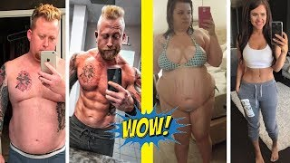 Amazing Before And After Weight Loss Pictures ~ PART 2