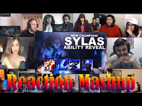 Sylas: The Unshackled | Champion Trailer - League Of Legends REACTIONS MASHUP