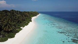 SONEVA FUSHI MALDIVES AERIAL DRONE 4K VIDEO PARADISE