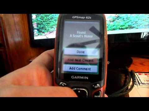 Geocaching with a Garmin GPS