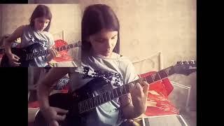 Ария - Потерянный Рай(на гитаре)