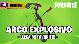 REVIEW EXPLOSIVE ARCO, THE HANDLE FUSIL THAT REVIENTA! FORTNITE SAVE THE WORLD Guide