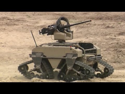 From Drones To Armed Robots Marines Test High Tech Weapons