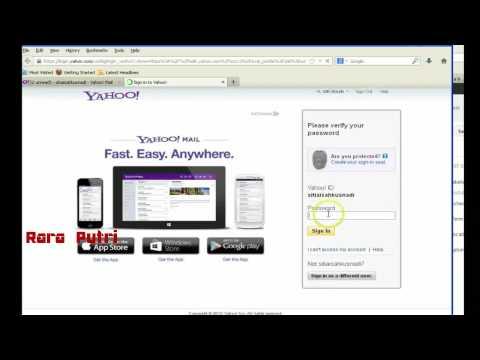 Cara Mudah Mengganti Password Email Yahoo Terbaru 2015