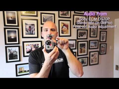 Better Audio on the GoPro Hero 2 Demonstration: Sony ECM-DS70P