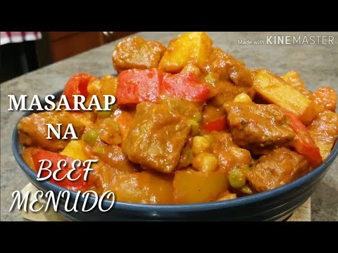 COOKING 101 : SEASON 2 - MASARAP NA BEEF MENUDO / FILIPINO FOOD / MASARAP NA ULAM / SIMPLE RECIPE...