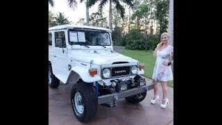 1982 Toyota FJ40 Land Cruiser Off Road Test Drive & Review w/MaryAnn For Sale by:AutoHaus of Naples