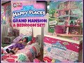 Shopkins HAPPY PLACES GRAND MANSION! Target BEDDING! Watch the MAGIC as we transform our Bedroom!