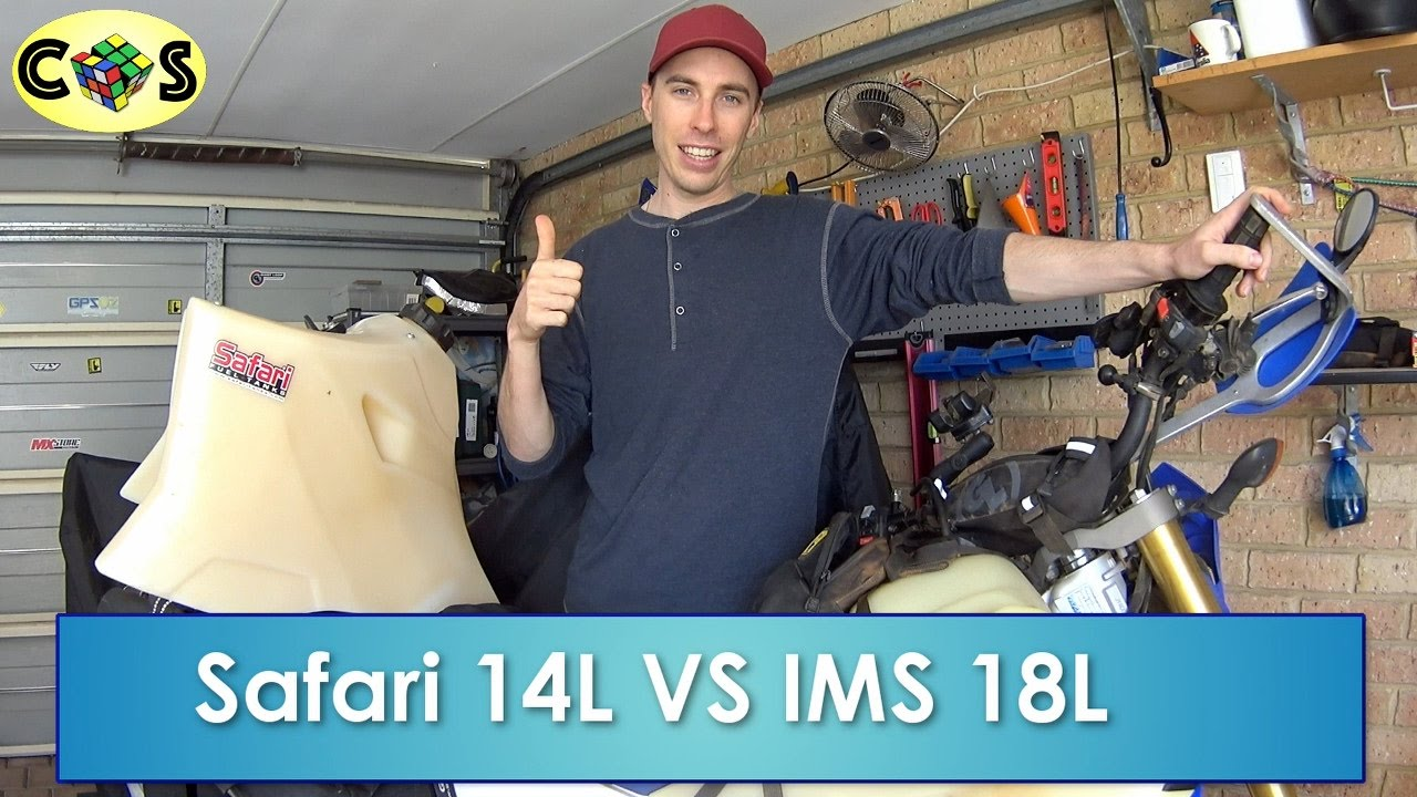 Safari vs IMS Tank For the WR250R