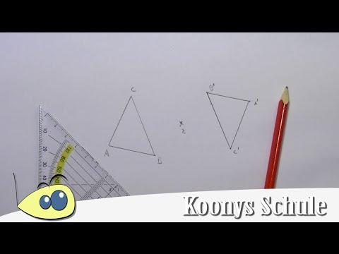 Punktspiegelung Dreieck Beispiel Mit Erklarung Geometrie