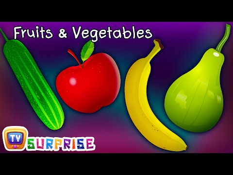 Thumbnail: Surprise Eggs Toys Learn Fruits & Vegetables for Kids | ChuChuTV Egg Surprise for Children