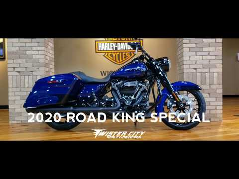 2020-harley-davidson®-road-king®-special-:-flhrxs-near-wichita,-ks