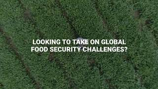Looking to take on global food security challenges...