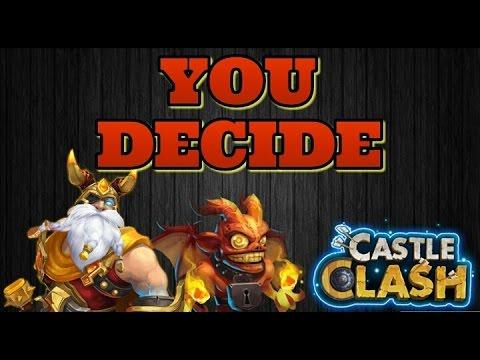 Castle Clash Lost BattleField Runs/Channel Update!