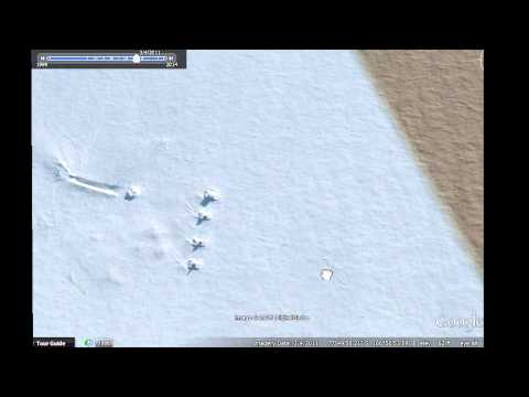 Crashed UFO Antarctica Update! Tanks Surround Flying Saucer? 2015