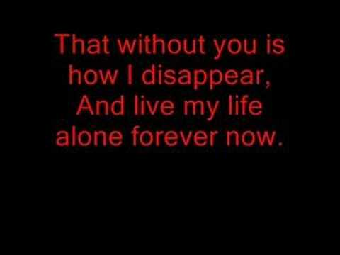 My Chemical Romance This Is How I Disappear Lyrics