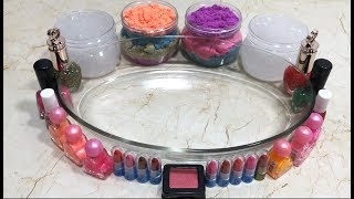 Mixing Makeup and Kinetic Sand Into Clear Slime !! Most Satisfying Slime Video#2| Boom Slime