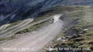 Höchste Motorradtreffen Europas Stella Alpina Treffen Offroad Col de Sommeiller auf BMW R1200GS