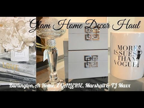 Interior Home Decor Haul | At Home Store, Z GALLERIE, Marsha