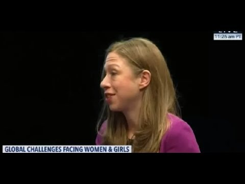 Chelsea Clinton: 'Child Marriage' and 'Climate Change' are 'Interconnected'