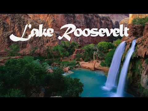 Cool Camping At Lake Roosevelt In Arizona-2018