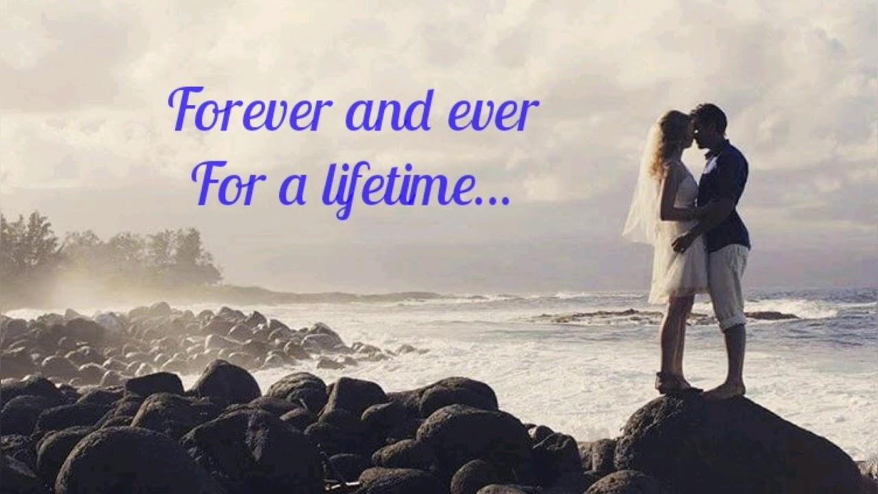 For a Lifetime  lyrics - Ryann Darling