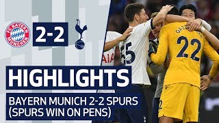 HIGHLIGHTS | BAYERN MUNICH 2-2 SPURS (SPURS WIN 6-5 ON PENALTIES) | AUDI CUP 2019