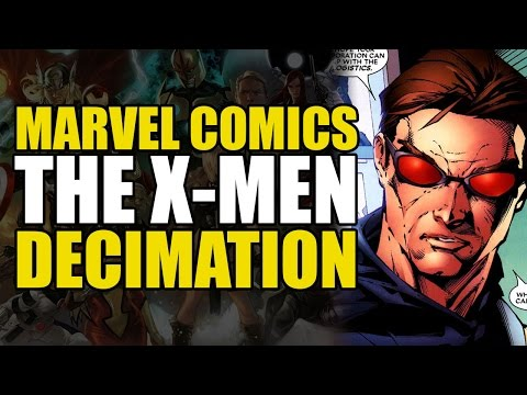 The Last of The Mutants!? (X-Men House of M Aftermath: Decim