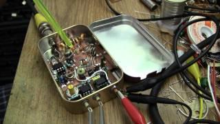 555 Super-Regenerative IF Spectrum Analyser