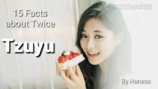 15 Facts about Twice Tzuyu