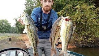 Lake Norman 13 boat bass tournament