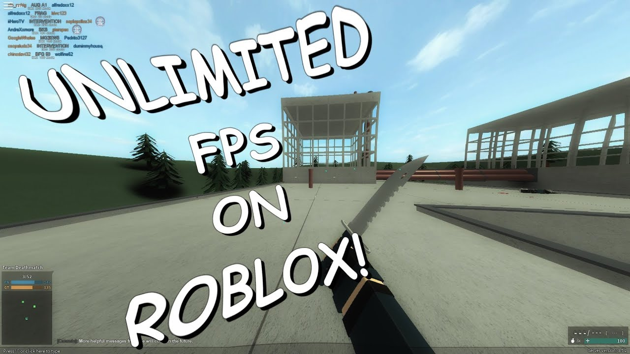 Playing Roblox With Unlimited Fps How To Unlock The 60 Fps