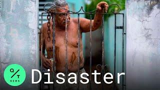 Hurricane Isaias Batters Puerto Rico With Heavy Rain, Wind, Flooding