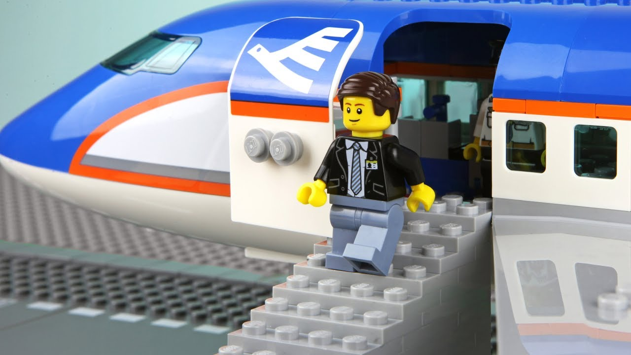 Lego Plane Robbery - The Airport