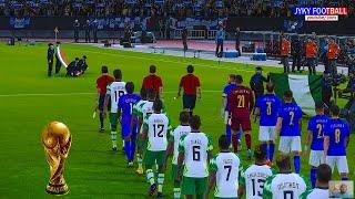 PES 2021 Nigeria vs Italy Final FIFA World Cup 2022 Full Match All Goals HD Jyky Football