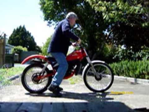 1986 Honda TLM 50 Trails Bike