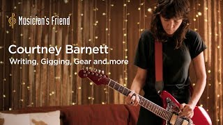 Courtney Barnett: Writing, Gigging, Gear and more