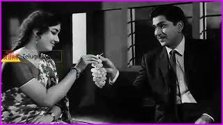 ANR Best Acting Scene - Mooga Nomu Super Hit Telugu Movie Scene | Jamuna