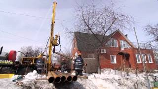 Бурение скважин любой сложности в любое время года | компания БурАкваСтрой(Бурение скважин на артезианскую воду в Московской области. Обустройство скважин. Канализация | Звоните:..., 2015-09-11T14:03:07.000Z)