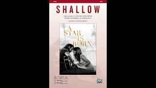Shallow, arr. Alan Billingsley – Score & Sound Video