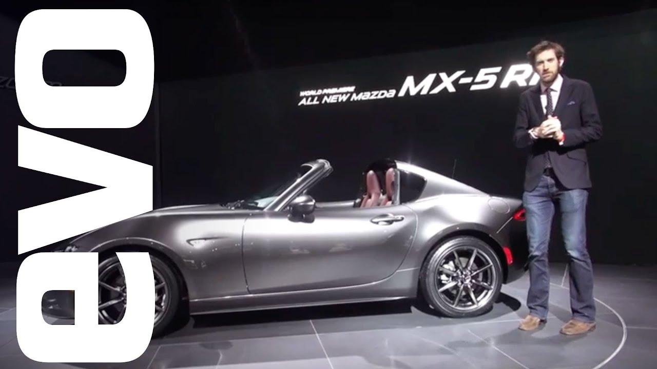 Mazda MX-5 RF preview - new hard-top sports car explored   evo MOTOR SHOWS