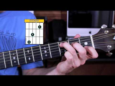 Beginner Guitar Chords - How to Play the 50's progression on Guitar