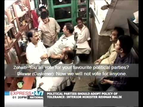 Street Talk at a  Barber's Shop Express 24/7 (Report by Zohaib Saleem Butt) HQ