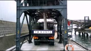 Japanese dump truck work 日本のダンプのお仕事