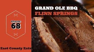 East County Eats Episode 68  - Grand Ole BBQ Flinn Springs in El Cajon