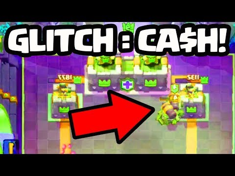 GLITCH = CASH! Check out these CRAZY Clash Royale / Clash of Clans Glitches and Share Yours for $$$