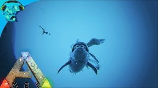 S4E15 - Using the Squid to tame ALL the Sea Dinos! ARK: Survival Evolved PVP Season